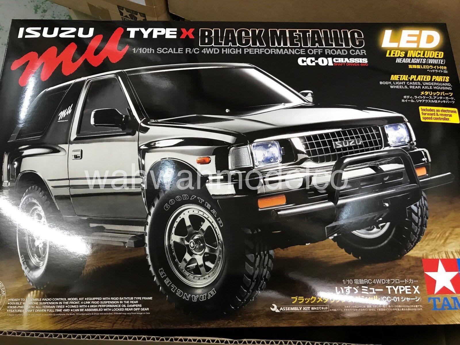 Tamiya  47383 1 10 Rc On-strada Isuzu Mu Type X Bm (Cc-01)  prezzo all'ingrosso e qualità affidabile