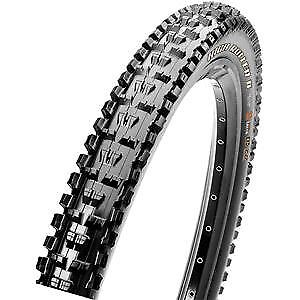 Maxxis High Roller II 26x2.30 60 TPI Folding Dual Compound EXO TR tyre Black