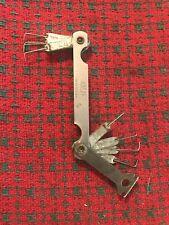 Vintage Dunlap Feeler Gauge Spark Plug Gauge