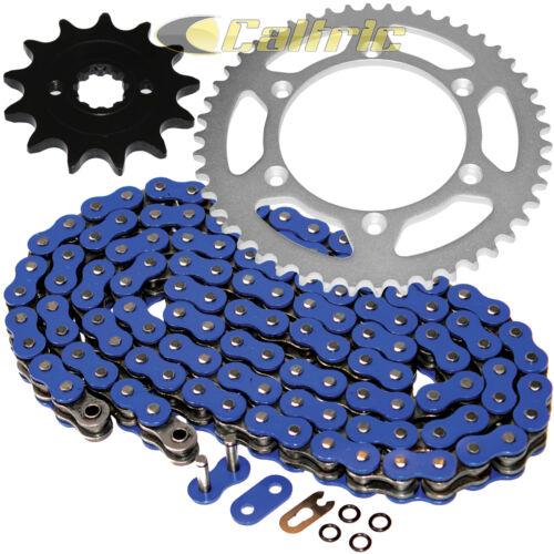 Blue O-Ring Drive Chain /& Sprockets Kit for Kawasaki KX250F 2004 2005