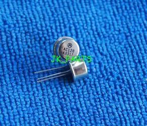 5pcs-AC128-PNP-Transistors-TO-18-GERMANIUM-SMALL-SIGNAL-TRANSISTORS