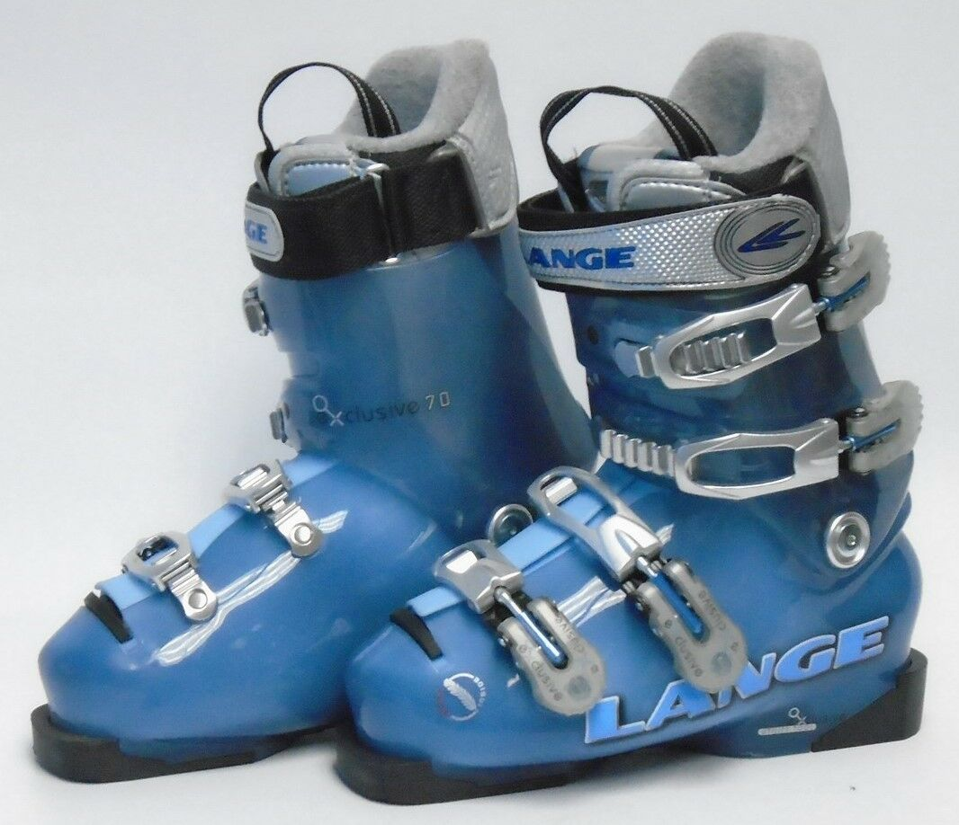 Lange Exclusive 70 Women's Ski Boots -  Size 6.5   Mondo 23.5 Used  enjoy saving 30-50% off