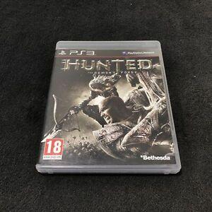 PS3-Hunted-The-Demon-039-s-Forge-FRA-CD-etat-neuf