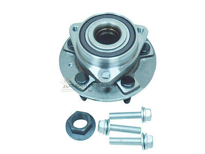 For Vauxhall Insignia 2008-2016 Front Hub Wheel Bearing Kits Pair ABS Ring