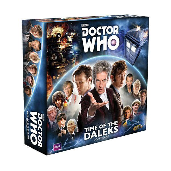 DOCTOR WHO - Time of the Daleks Board Game (Gale Force Nine)  NEW