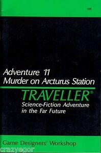 Traveller- Adventure 11 Murder on Arcturus Station GDW FS
