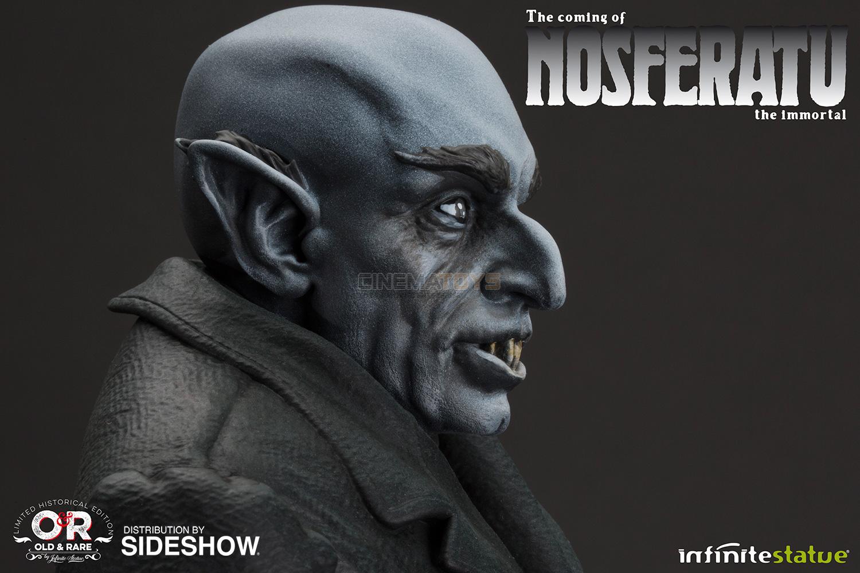 Dracula Vampire by F.W. Murnau NOSFERATU Infinite Statue Distribution Sideshow