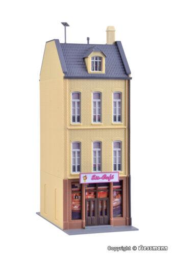 Kibri H0  38393 Stadthaus Eiscafe//Bäckerei Düsseldorf  NEU//OVP