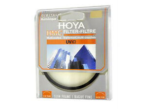 HOYA UV Filter HMC (C) 37, 40.5, 43, 46, 49, 52, 55, 58, 62, 67, 72, 77, 82mm