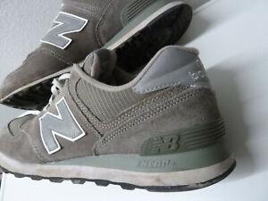 Details zu New Balance NB 574 Gr. 44,5 / US 10,5 / 28,5 cm Artikel # M574GS  gray grau