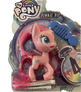 My Little Pony pinkie Pie pink action Figure with Blue Comb MLP new