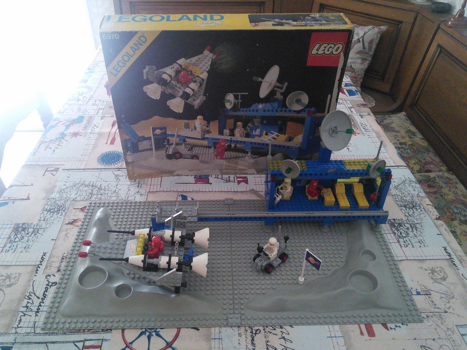 LEGO Classic Space 6970 LEGOLAND Beta 1 Base Comando Box Istruzioni Vintage 1981
