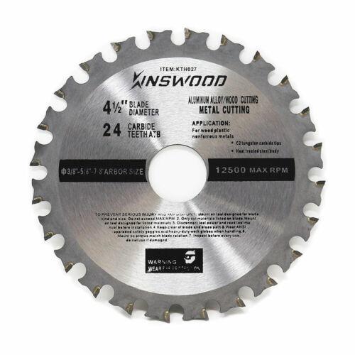 """Makita bosch 4-1//2/"""" 4.5/"""" 24T Circular Saw Blade Finish blade for DeWalt SKIL"""