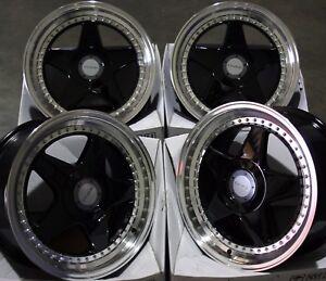 17-034-BLACK-DARE-DR-F5-ALLOY-WHEELS-FITS-BMW-MINI-R50-R52-R55-R56-R57-R58-R59