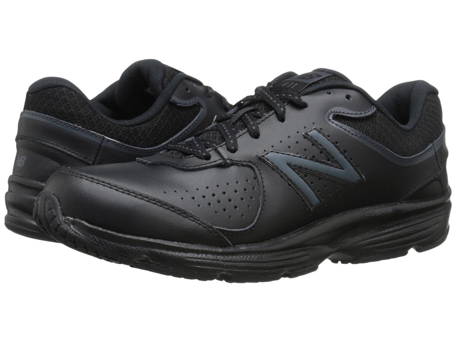Women New Balance WW411BK2 Walking (Wide D) Black 100% Authentic Brand New