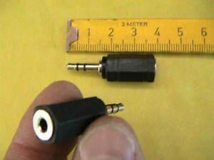 Suche Nach FlüGen Stereo Adapter 2,5 Auf 3,5mm Klinke 2x 10101 Kabel, Leitungen & Stecker Audiokabel & Adapter
