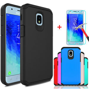 For-Samsung-Galaxy-J3-V-2018-Orbit-Star-Achieve-Case-Cover-With-Screen-Protector