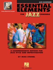 """éléments Essentiels Pour Jazz Ensemble"" - Alto Sax Music Book With Online Access Neuf!!!-afficher Le Titre D'origine"