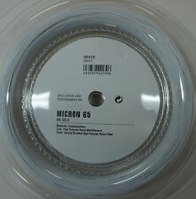 YONEX Badminton String BG65 BG-65 x 200 metres coil , White, 100% Genuine