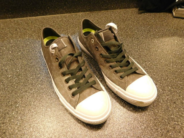 Converse Chuck Taylor All Shale Star II Reflective Wash Shale All Gray 153548C ________R1- 24e296