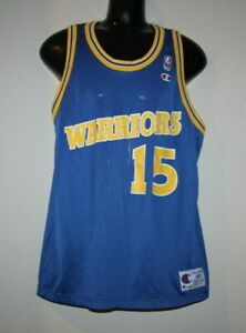 cheaper 3acf0 3556b Details about Vintage Latrell Sprewell Golden State Warriors Champion  Jersey 44 Curry Durant