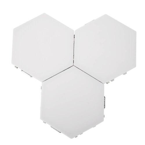 LED Quantum Lamp Hexagonal Night Light Modular Touch Sensitive Home Wall Decor