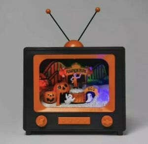 Hyde-amp-EEK-Boutique-5-5-034-Animated-Halloween-TV-IN-HAND