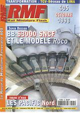 RMF N°405 BB 63000 SNCF ET LE MODELE ROCO / PACIFIC NORD / TGV RESEAU DE LIMA