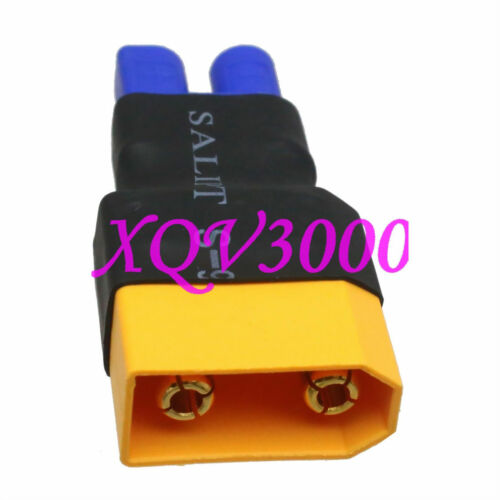 Direct connect XT90 XT-90 Male to EC3 Female Adapter For LiPo Electric Quad