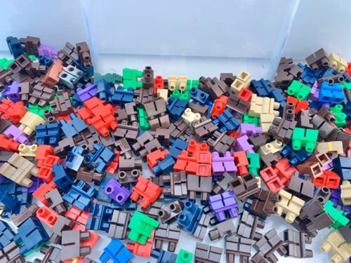 Brown Red Purple Blue Green LEGO Short Long Legs 10 Pieces Per Order