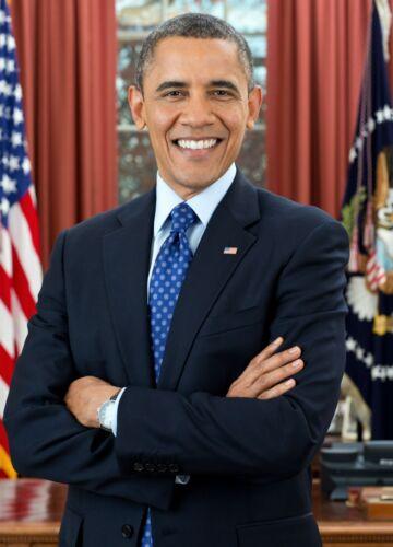President Barack Obama Official PHOTO Portrait White House Oval Office