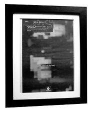 CABARET VOLTAIRE+Conversation+POSTER+AD+ORIGINAL 1994+FRAMED+EXPRESS GLOBAL SHIP