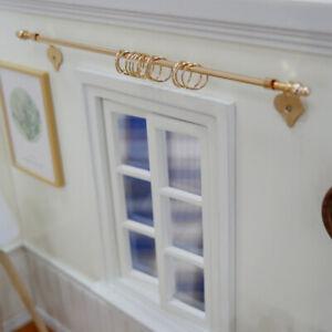 1-12-Dollhouse-DIY-miniature-curtain-rod-mini-exquisite-dollshouse-accessori-D