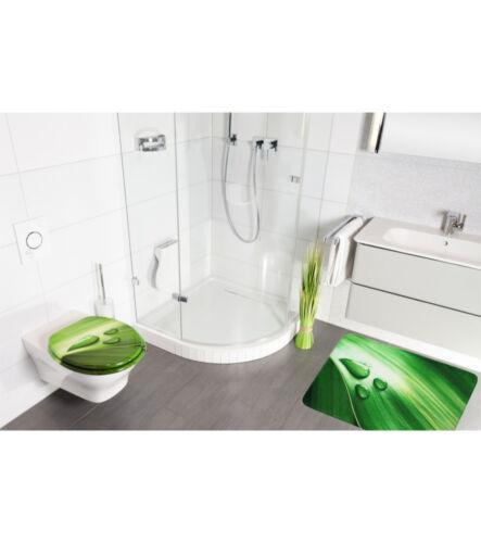 Tapis Bain Tapis De Bain Badeteppich salle de bain Tapis Green Leaf