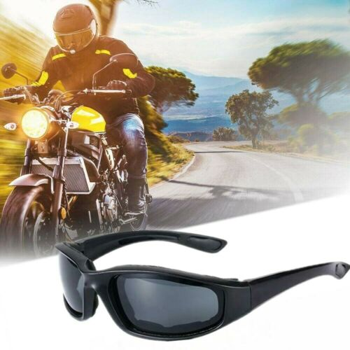 Gray Men Wind Resistant Sunglasses Extreme Sports Motorcycle Riding Glasses New
