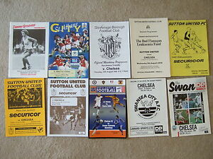 chelsea away friendly programme v swansea city 19888 - <span itemprop=availableAtOrFrom>Benfleet, United Kingdom</span> - chelsea away friendly programme v swansea city 19888 - Benfleet, United Kingdom