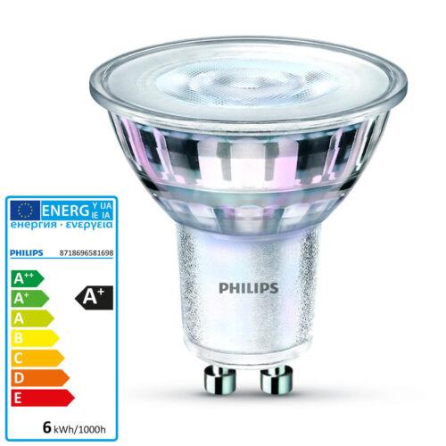 PHILIPS GU10 LED Lampe bis 5,5 Watt Strahler Spot Glaskörper Leuchte