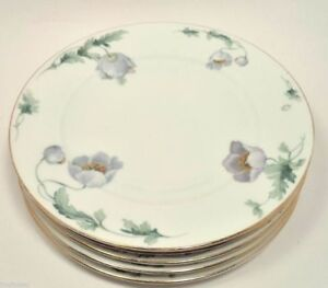 BOHEMIA-CZECHOSLOVAKIA-CHINA-CECIL-DISHES-2289-5-DINNER-PLATES-10-034