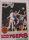 1977 Topps Lloyd Free #18 Basketball Card