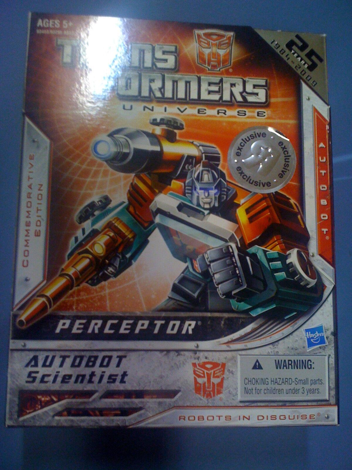 Transformers Universo G1 reedición perceptor TRU ex Caja Nuevo Envío Gratis EE. UU.