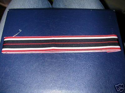 "War Merit Cross  Ribbon Inc UK p/&p. 15mm Wide x 6/"" GERMAN"