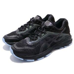 Details about Asics GT-2000 6 Lite-Show Black Blue Reflective Women Running  Shoes 1012A169-001