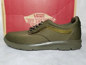 New-Vans-Iso-1-5-Mono-Ivy-Green-Mesh-Gum-Ultra-Cush-Skate-Shoe-Men-Size-7