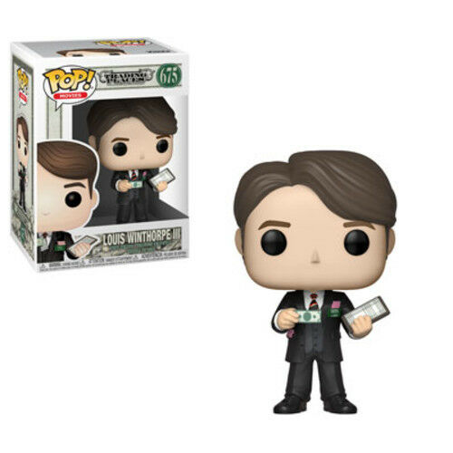 Funko Pop Louis Winthope Iii Trading Places Movies: 2018, Toy NEU