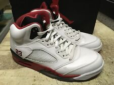 d4cb58177bdc item 4 USED MENS NIKE AIR JORDAN V 5 FIRE RED BLACK TONGUE 136027 120 Sz 9  FREE SHIP -USED MENS NIKE AIR JORDAN V 5 FIRE RED BLACK TONGUE 136027 120 Sz  9 ...