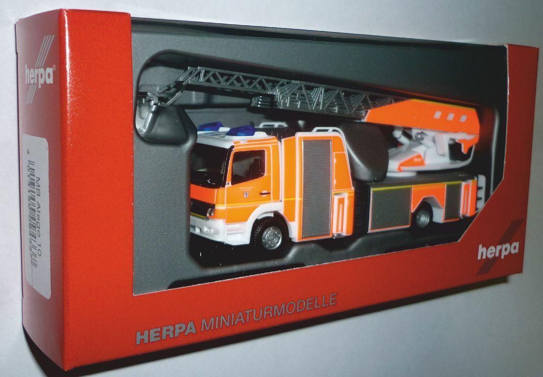 Herpa Herpa Herpa 094337 MB Atego Rosanbauer Drehleiter Feuerwehr Ingolstadt 1 87 Spur HO  | Am wirtschaftlichsten  43355b