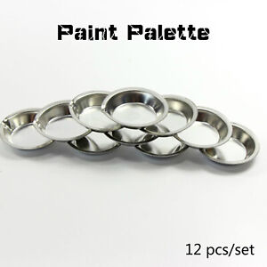 12pcs-set-Model-Coloring-Plates-UA-90020A-Metal-Painting-Color-Palette-Tools