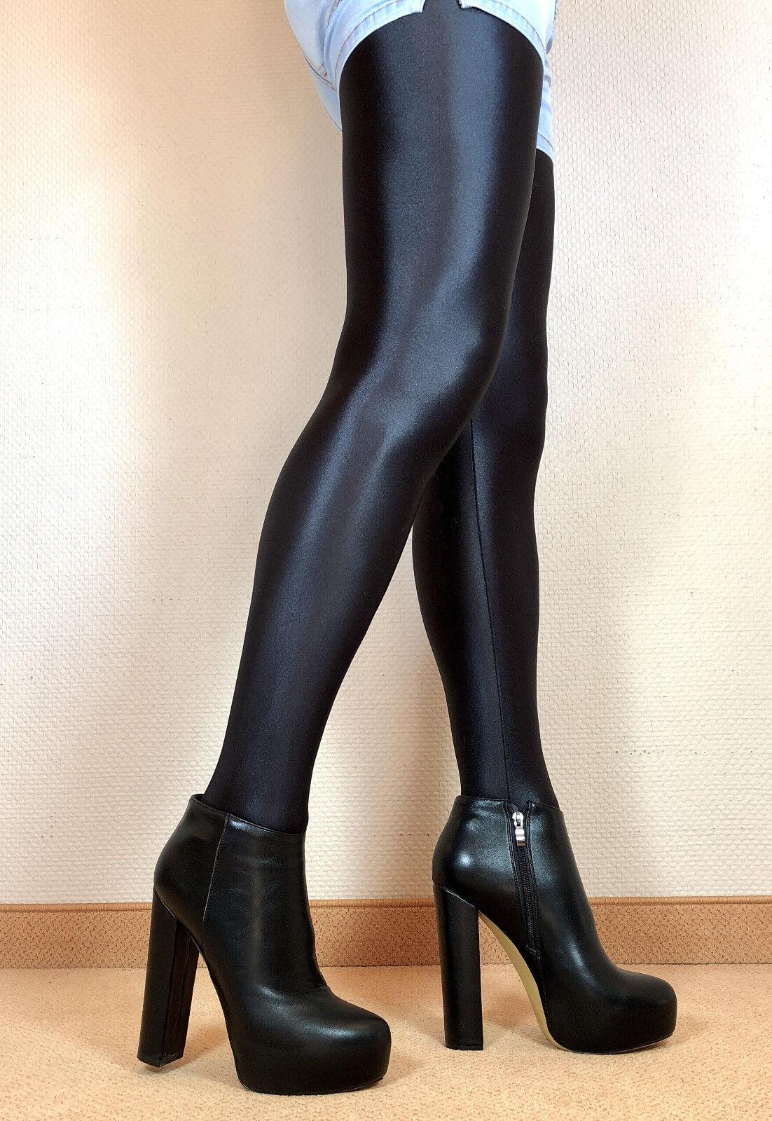 ultimi stili TG. TG. TG. 43 in esclusiva Sexy Tacco Alto Scarpe Da Donna Stiletto avvioIES Uomini Stivali f4  la migliore selezione di