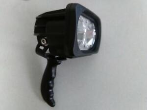 16/' Coil Cord Larson 10 Watt LED Handheld Spotlight