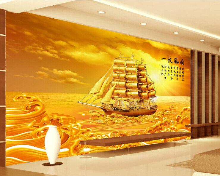 3D Ozeansegelnhimmel 558 Tapete Tapeten Mauer Foto Familie Tapete Wandgemälde